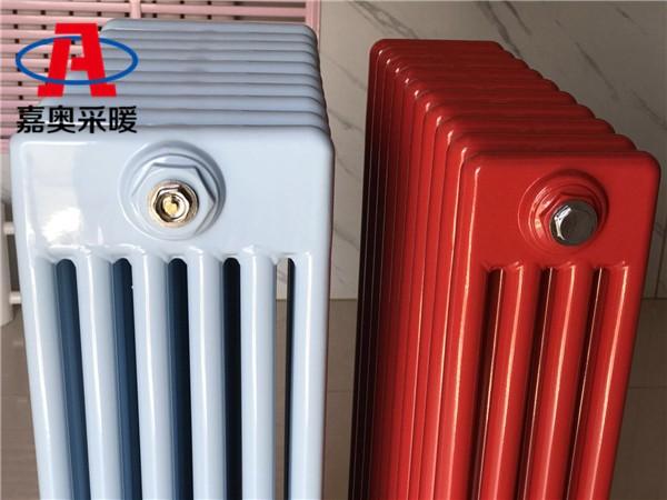 盘山钢六柱暖气片606钢制散热器钢六柱