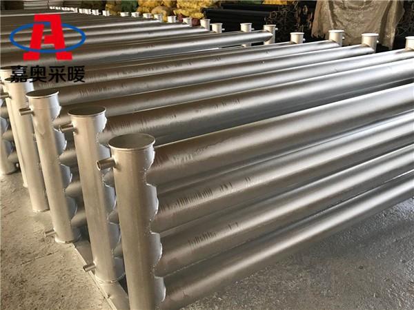 攸县d133-3000-4光排管暖气片地支架