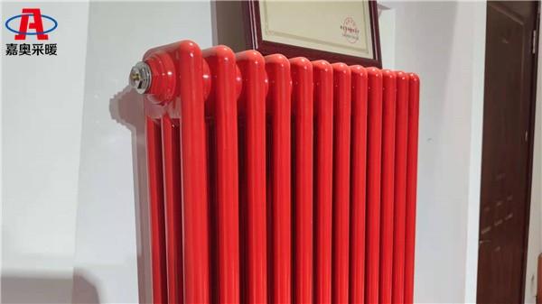 犍为钢制三柱600型散热器钢制柱型散热器支架