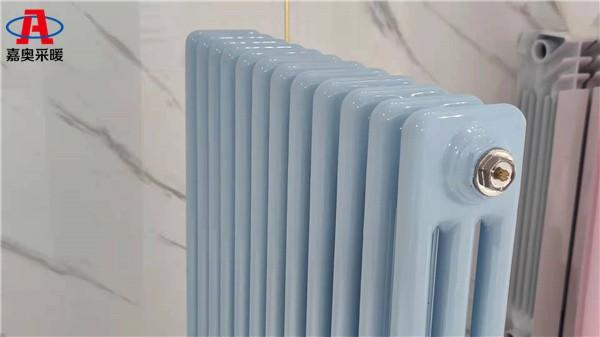 江源钢制圆三柱散热器钢制柱式散热器价格