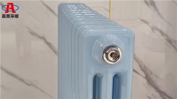 保山钢三柱暖气片306钢制柱型散热器内防腐