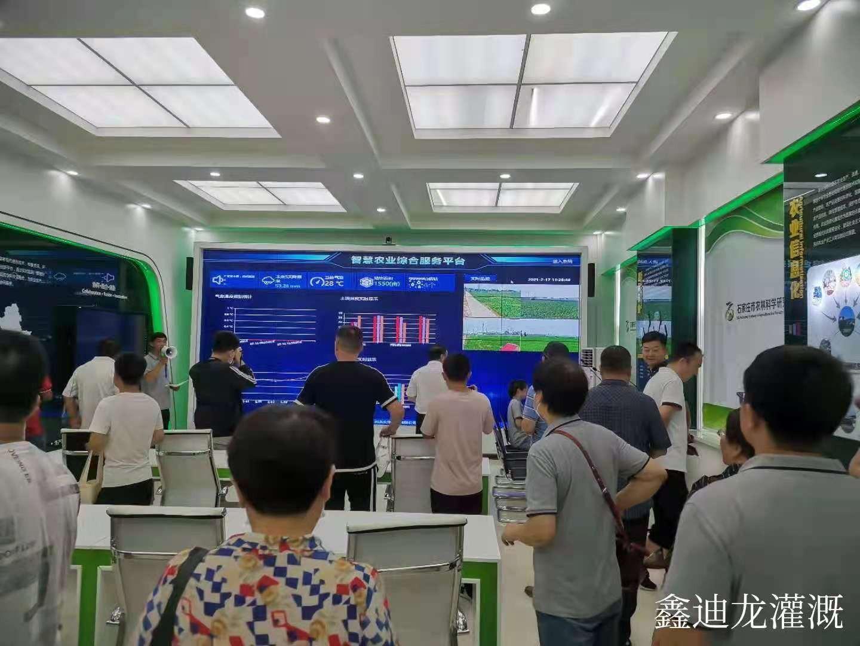 河南省焦作市中站区五节伸缩喷灌来回均能听到咔