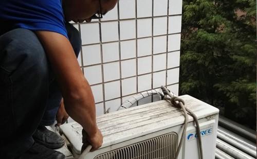 南京高空安装空调师傅电话_收费价格