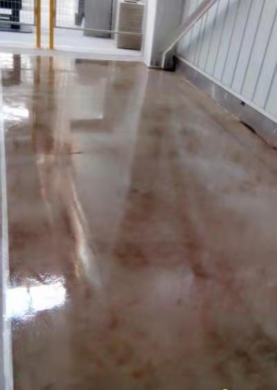 重庆大足艺术复古地坪施工各种厂房耐磨防滑抗压实用