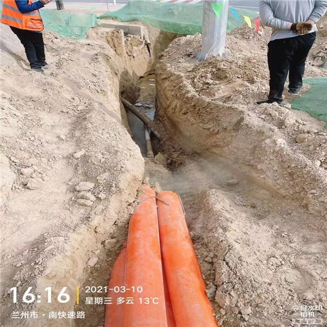 酒泉非开挖人工过路水泥顶管-非