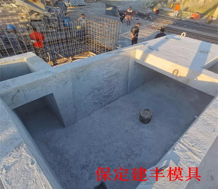 广州水泥箱变基础钢模板因为体型突出