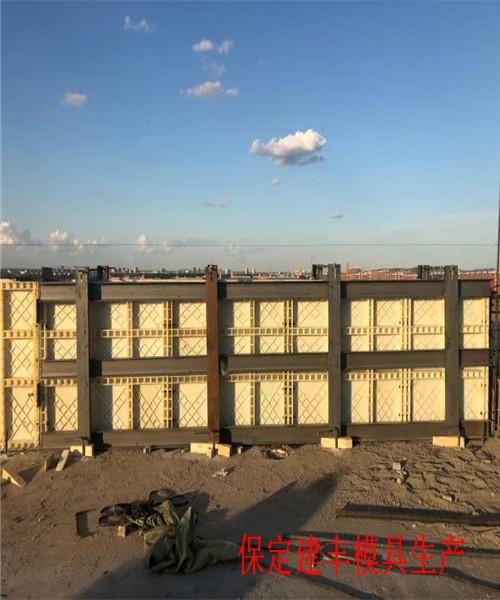茶陵道路AB墙模具建丰生产过程图片