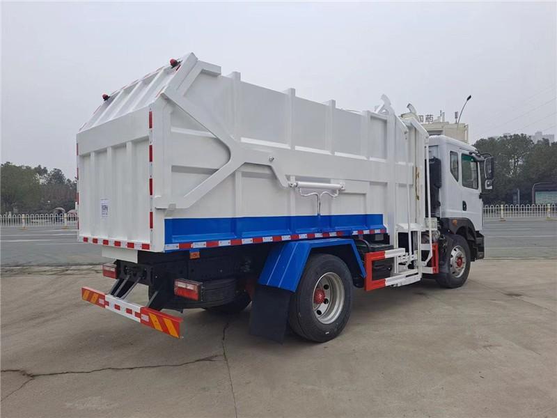 楚雄市后装压缩式垃圾车适合小区等使用