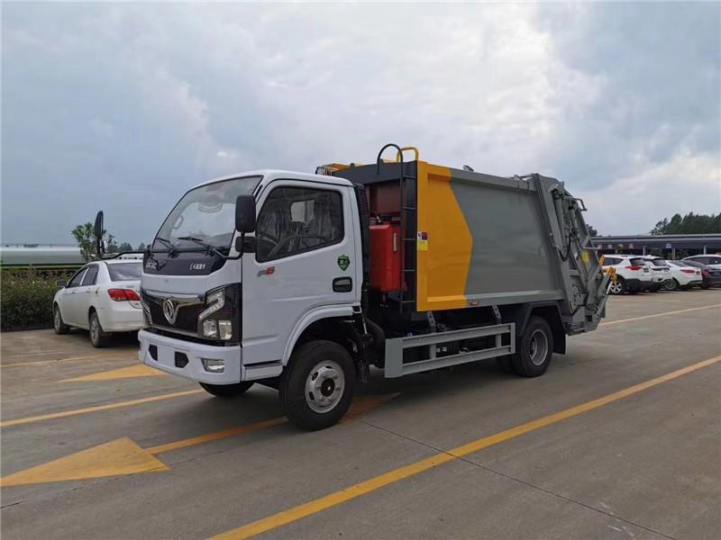 渭源东风多利卡D9垃圾车配置配