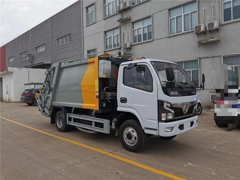 和平蓝牌后装压缩垃圾车垃圾车又称垃圾转运车