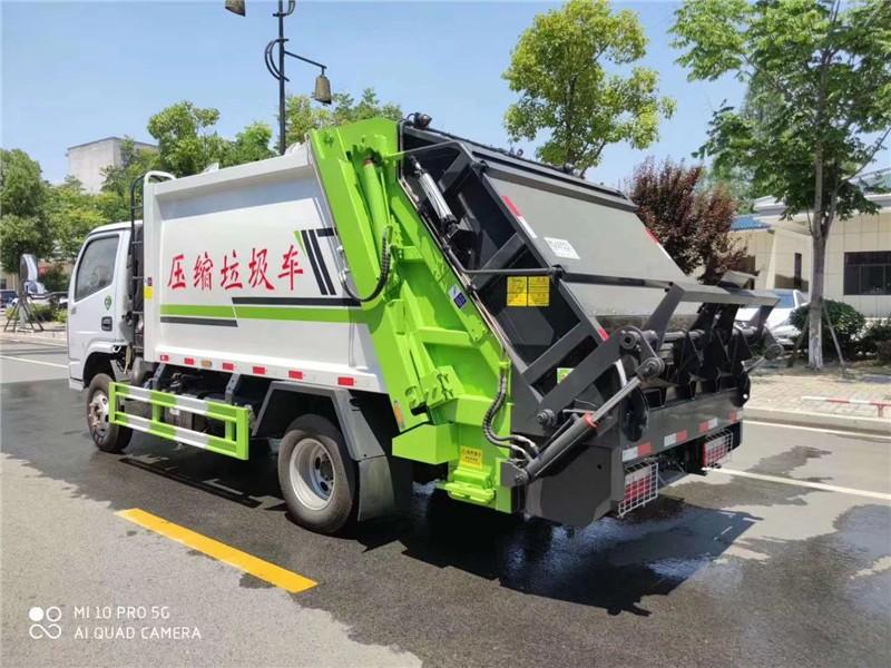 澧县挂桶垃圾车参数车型