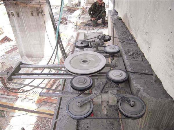 烟台混凝土绳锯切割拆除技术