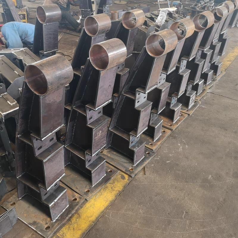 阳江304不锈钢碳素钢复合管梯道栏杆强度高
