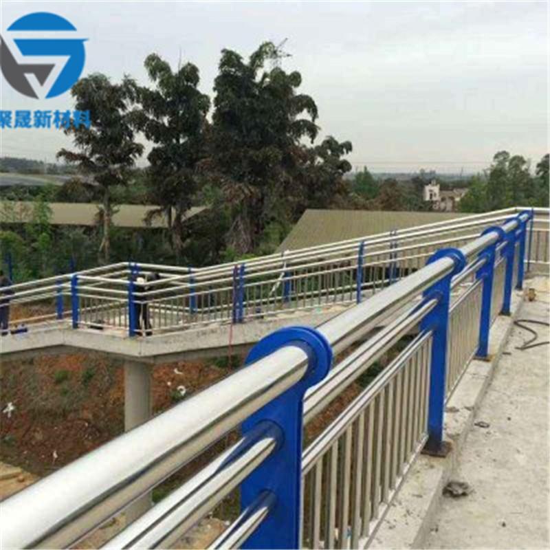 丽水201不锈钢复合管景观防护栏杆保质保量