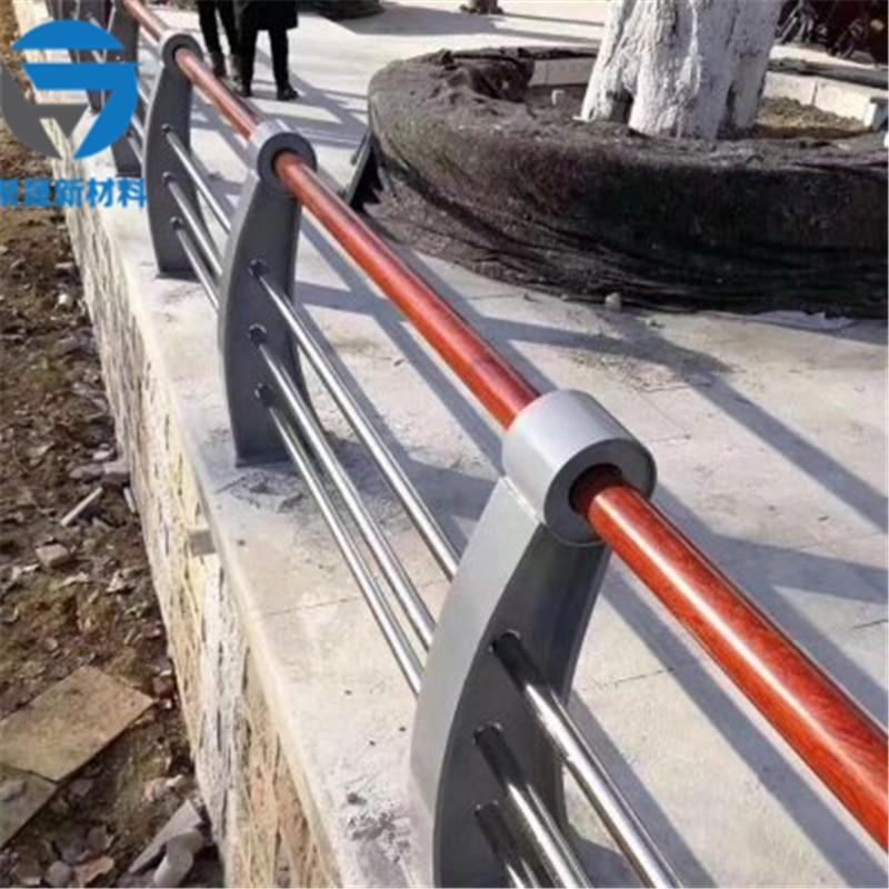 拉萨201不锈钢复合管梯道栏杆接口试验成功