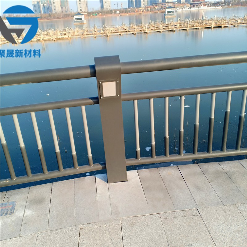宿迁304不锈钢碳素钢复合管防撞栏杆工艺加工