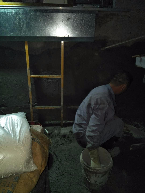 滁州电梯井梯门口堵漏施工方案