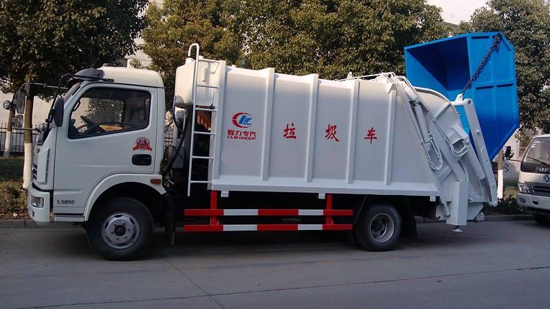 吉林东风勾臂垃圾车哪有卖