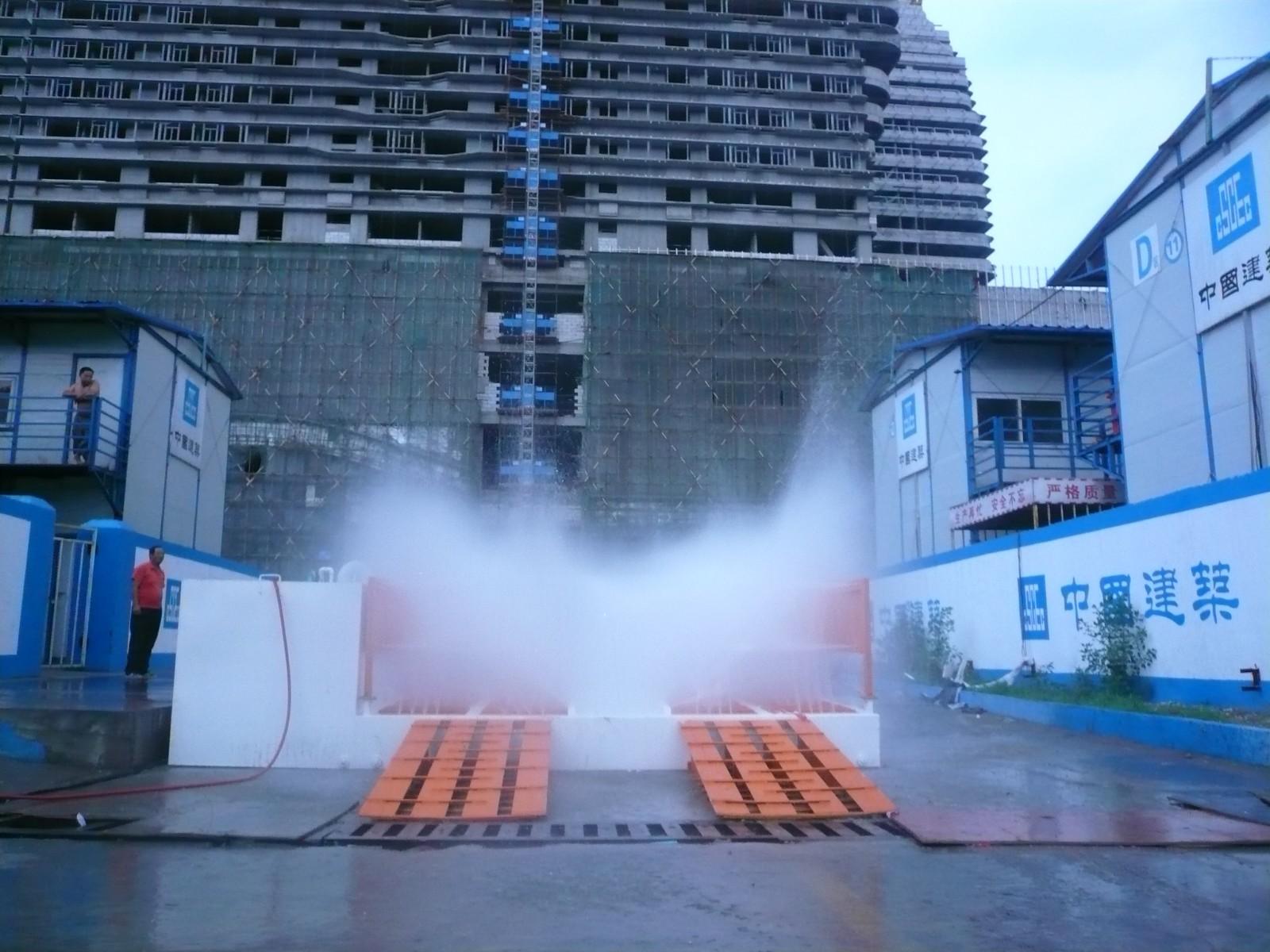 龙江工地平板式冲洗机@调节简单