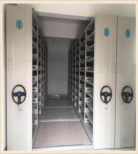 古浪全封闭移动档案架使用方法