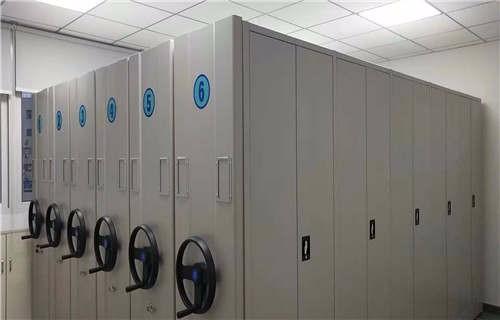 安阳智能回转档案柜安装操作注意事项