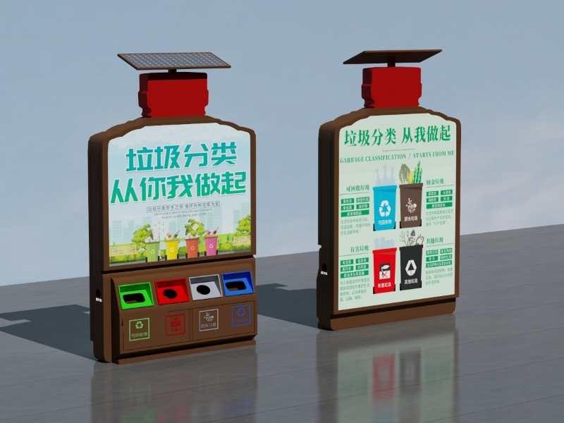 金昌生态垃圾箱产品样式