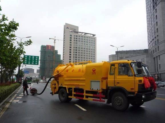 绵阳专业高压车疏通管道专业效率高