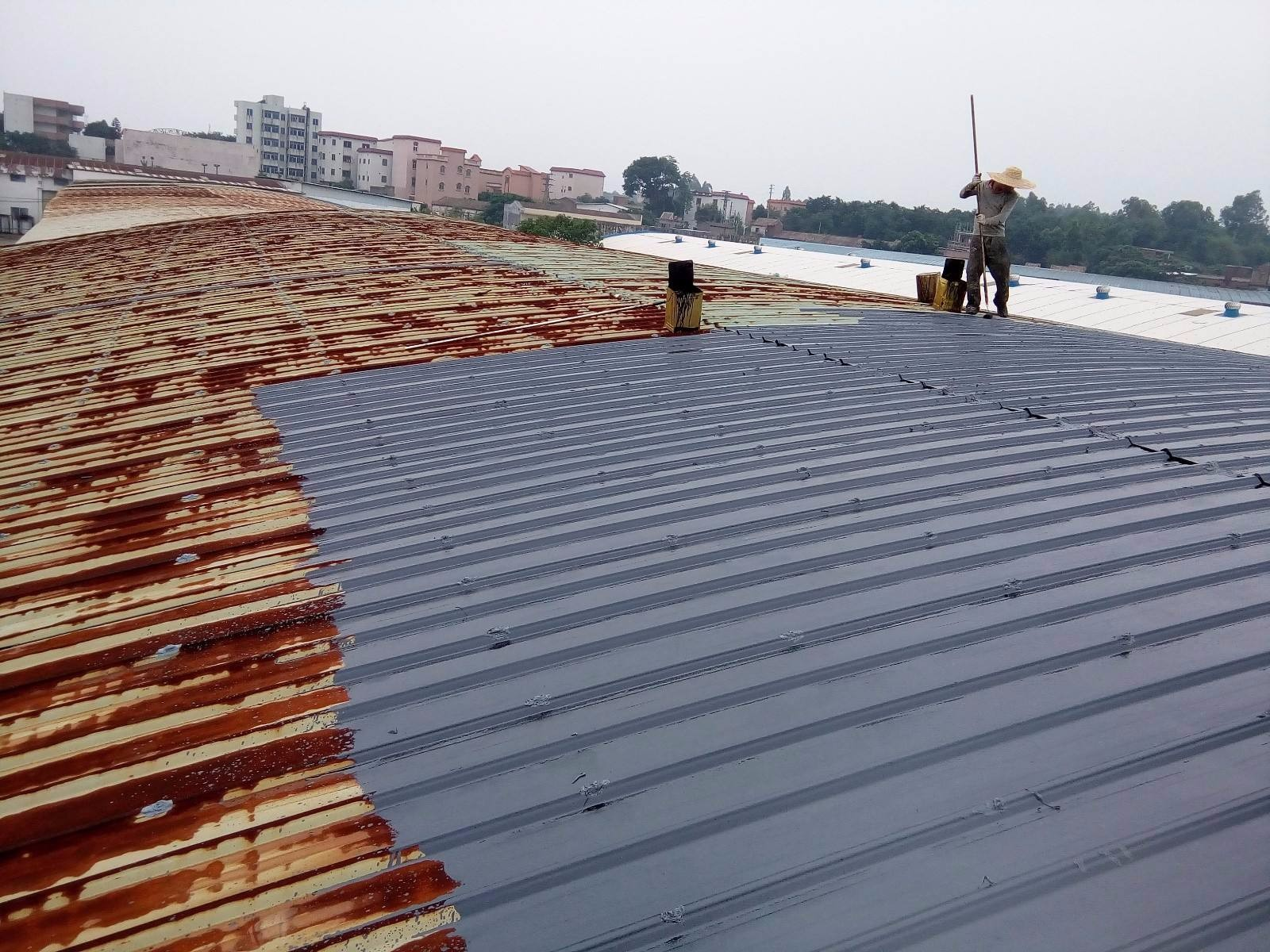 保定厂房彩钢顶翻新喷漆-价格