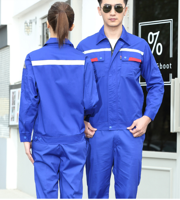 Insurance work clothes -- four seasons flame retardant work clothes custom made in Leibo County, Liangshan