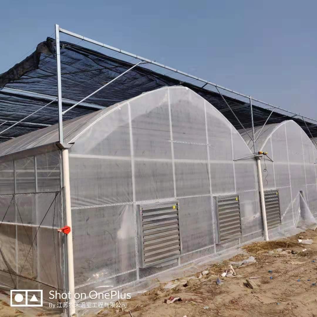 项城观光温室大棚建设温室资材