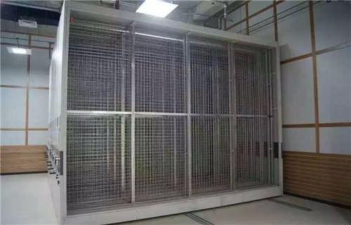 静宁档案库房电动密集架更衣柜