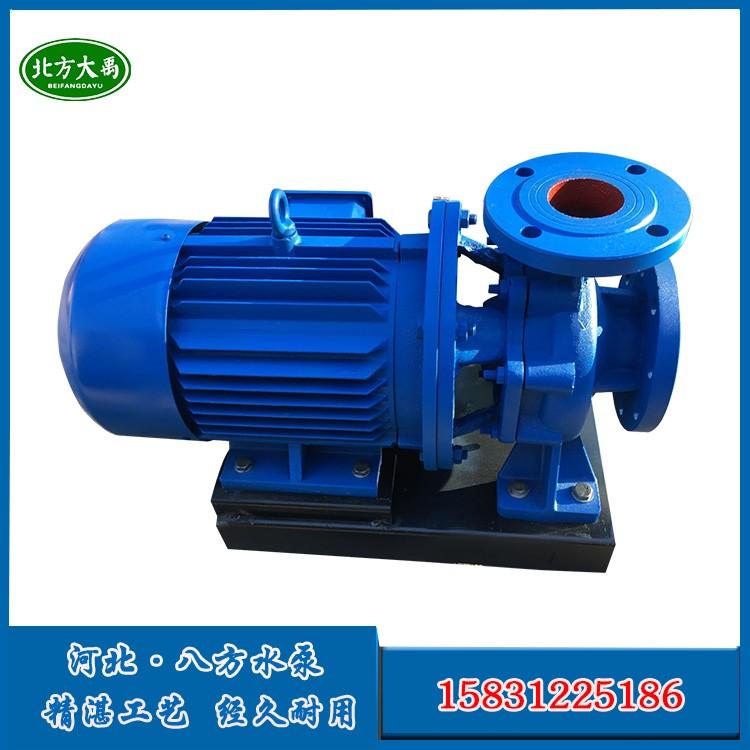 ISW50-160B节能卧式管道泵-区别