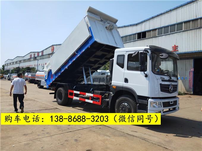 国六来了污泥车-12吨15吨污泥运输车多少钱