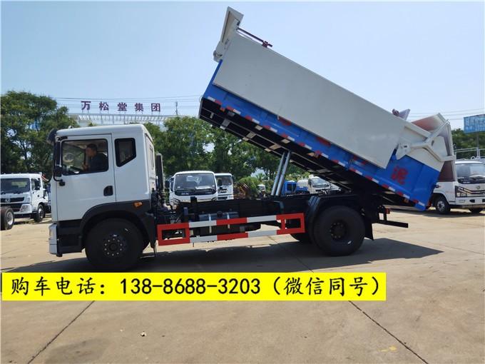 脱水污泥10吨12吨污泥运输车型号报价