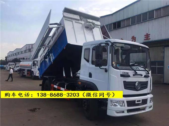推荐8吨10方污泥运输车-自卸式污泥运输车报价