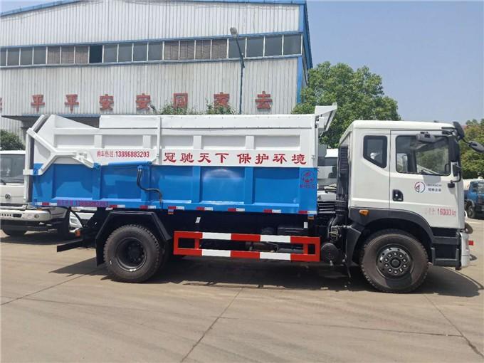 抗腐蚀性5吨污泥运输车+5吨自卸式污泥运输车厂家配置