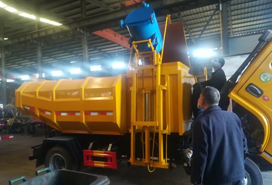 污水厂12方污泥运输车-自卸式污泥运输车-粪污收集车方案